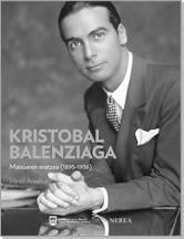 Kristobal Balentziaga liburuaren azala