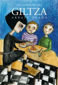 Giltza liburuaren azala