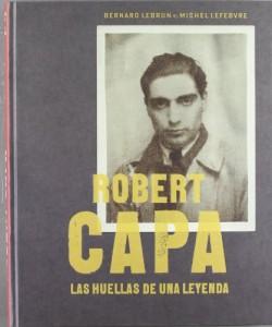 Robert Capa liburuaren azala