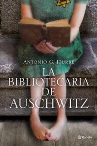 Cubierta del libro La Bibliotecaria de Auschwitz