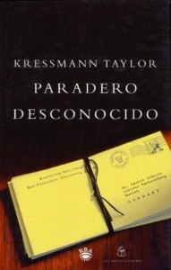 Paradero desconocido, Kressmann TaylorT