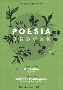 Poesia Orduak 2018, Maite Mutuberria