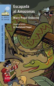 Escapada al Amazonas, Mary Pope Osborne