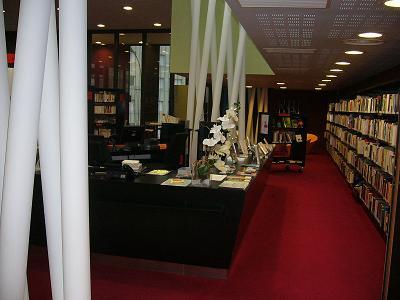Alfortville mediateca biblioteca alrededores de Paris