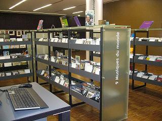 Biblioteca Marguerite Duras sección música Paris