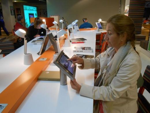 Biblioteca del aeropuerto de Schiphol