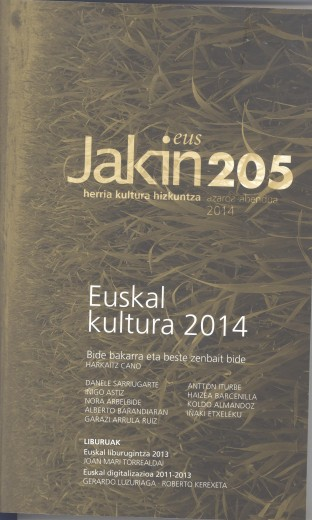 Sobre la Digitalización en EuskadiEuskal Digitalizazioa -Jakin Aldizkariaria