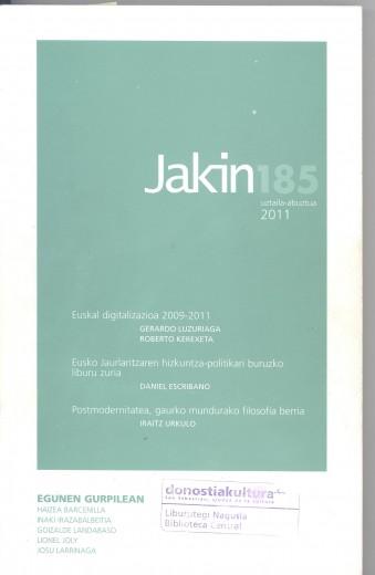 Revista Jakin 185