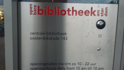 Horario y dirección de la Biblioteca