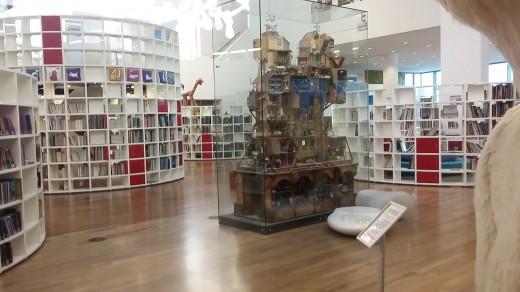 Sección infantil OBA biblioteca publica de Amsterdam